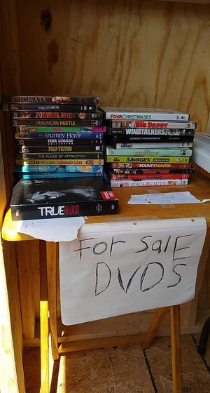 Dvd's. And. Other. Stuff for Sale in Grantsville, WV