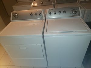 Whirlpool washer and electric and dryer * High efficiency for Sale in Phoenix, AZ