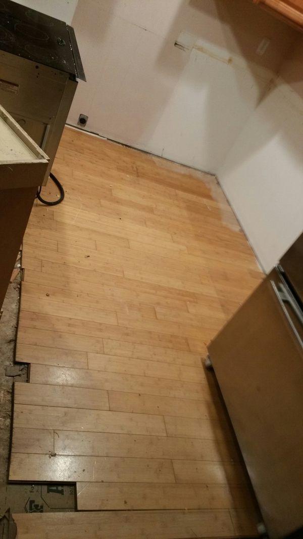 Free hardwood bamboo floor