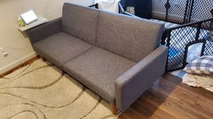 Couch/futon modern design for Sale in East Liberty, PA