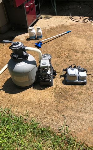 Intex pool filter and saltwater system for Sale in Severna Park, MD