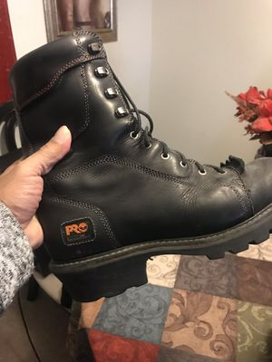 Timberland and Chippewa boots size 12 bolt two pair for Sale in Marlborough, MA