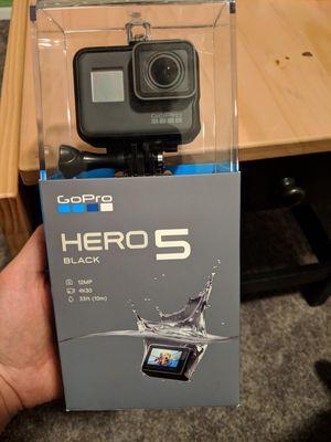 GoPro Hero 5 Black for Sale in Las Vegas, NV