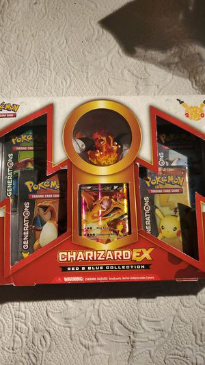 Charizard EX Red & Blue collection for Sale in Conroe, TX