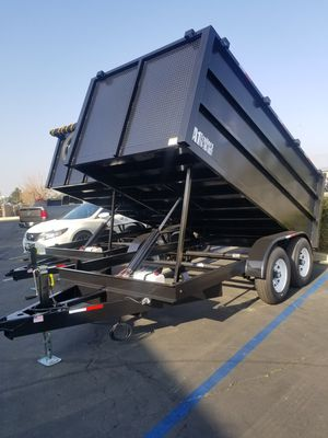 Dump Trailer 8x12x4 for Sale in Hacienda Heights, CA