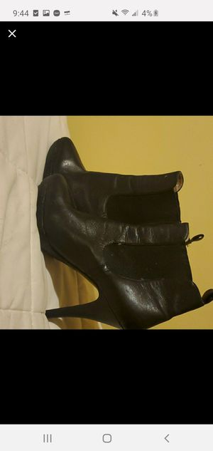 Black Michael kors womens heel boot for Sale in Centennial, CO