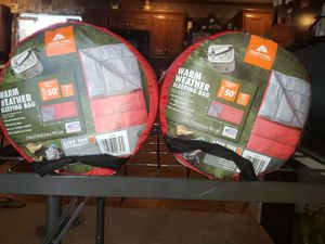 Warm weather sleeping bags ozark for Sale in Lisbon, ME