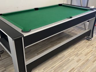Pool Table And Air hockey table Combo for Sale in Newport Beach,  CA