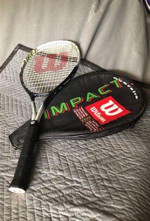 Wilson impact oversize tennis racket for Sale in Corona, CA