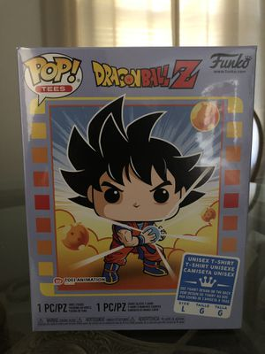 Dragonball Z Goku Pop with T-Shirt for Sale in Northampton, PA