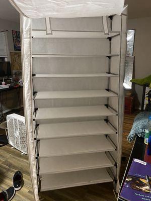 Fabric Closet Organizer for Sale in Roy, WA