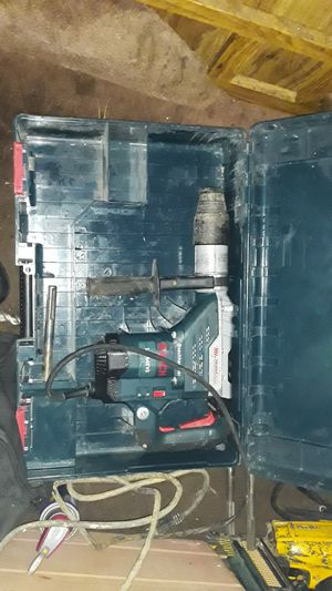 Bosch hammer model 1 1 2 6 4 EVS vibration control drill with eight bits serious buyers only for Sale in Oakland, CA