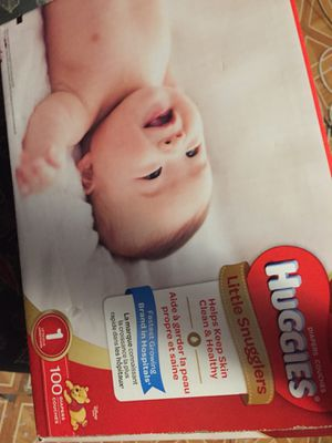 Huggies size 1 for Sale in Lakewood Township, NJ