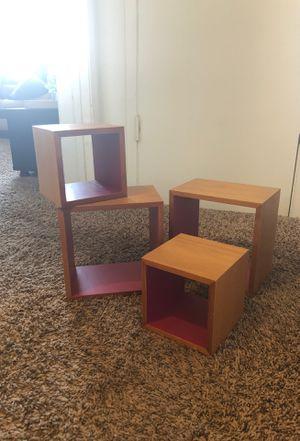 Floating Shelves (Wooden, Magenta) for Sale in Los Angeles, CA