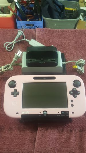Nintendo WII U System with 1 controller for Sale in Grand Prairie, TX