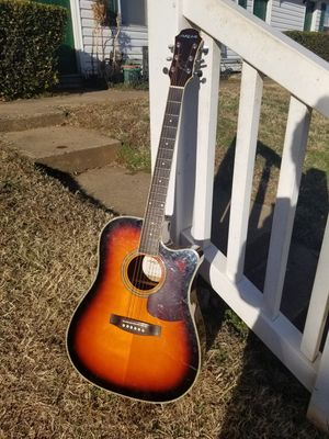 Acoustic electric guitar for Sale in Charlottesville, VA