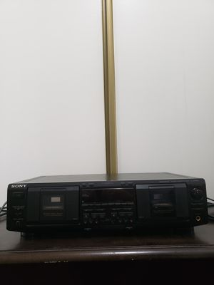 Sony TC-WE835S dual cassette deck for Sale in Glendale, CA