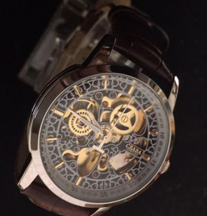Hollow Steampunk Style Russian Water Resistant Stainless Steel Watch for Sale in Denver, CO