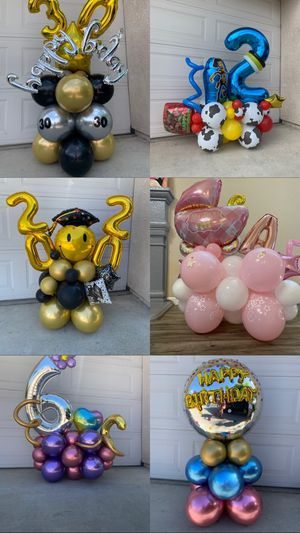 Balloon bouquets for Sale in Fresno, CA