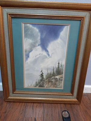 Two large framed Bill Alexander prints for Sale in Lakewood, WA