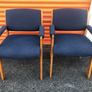 Pair Of Lobby Office Chairs for Sale in Brandon, FL