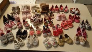 Baby girl shoes.. for Sale in Ocala, FL