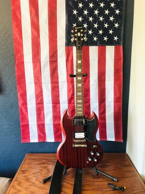2012 Epiphone SG G400 Series electric guitar, Upgraded for Sale in Phoenix, AZ