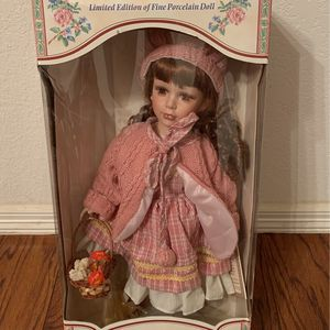 Angelina Collection Porcelain Doll for Sale in Grapevine, TX