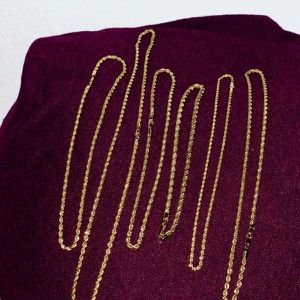 14k Gold Rope Chains for Sale in Las Vegas, NV