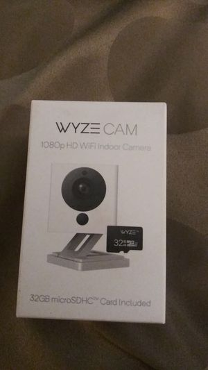Wyze cams. 25$ each comes with a 32g sdcard for Sale in Ontario, CA