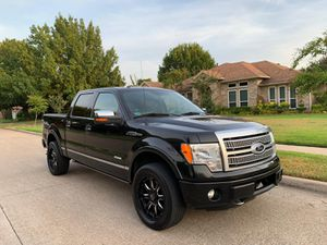 Ford f150 2012 clean title PLATINIUM 4x4 for Sale in Arlington, TX