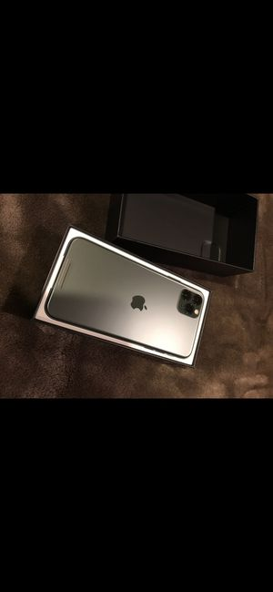 iPhone 11 Pro Max Brand New with Warranty for Sale in Vienna, VA