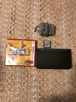 Nintendo 3D XL w/2 games for Sale in Westerville, OH