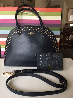@@ Coach @@ Authentic Like New Purse with Wallet Set for Sale in San Antonio, TX