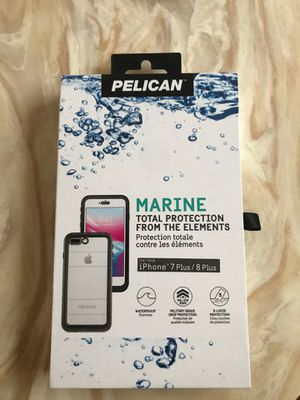 iPhone 7/8 plus waterproof case brand new condition for Sale in Norwalk, CT