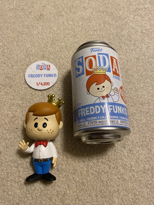Freddy Funko POP Soda pair