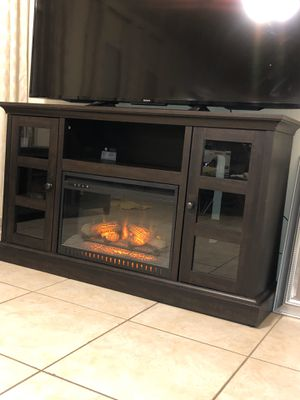 Tv stand fire place heater for Sale in Chandler, AZ
