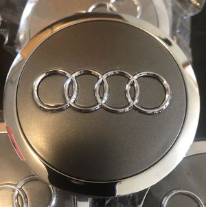 Audi OEM Wheel Center Caps Brand New A4 A6 Q5 for Sale in Kent, WA