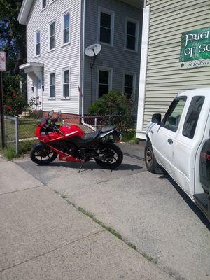2012 Kawasaki Ninja sport motorcycle for Sale in Pawtucket, RI