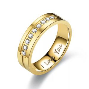 Unisex 18K Gold plated Ring- Code I LOVE YOU for Sale in Baltimore, MD