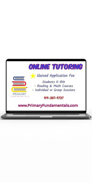 Online Tutoring Available for Sale in Clayton, NC