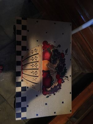 Unique fruit box / table for Sale in Traverse City, MI