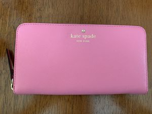 Kate Spade Pink Large Wallet for Sale in Alexandria, VA