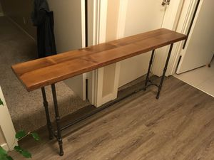 Reclaimed Wood Console Table for Sale in Seattle, WA
