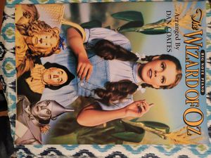 Wizard of Oz piano music book with story and pics for Sale in US