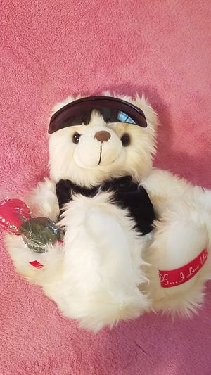 """Brand new Valentine's day white """"PS... I love you bear for Sale in Williamsport, PA"""