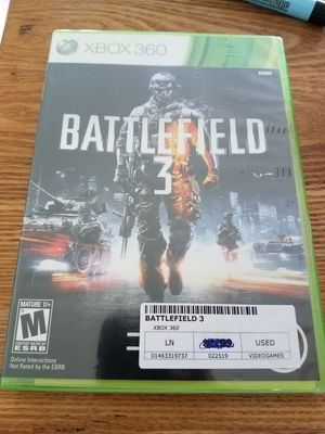 battlefield 3 xbox 360 game for Sale in Evesham Township, NJ