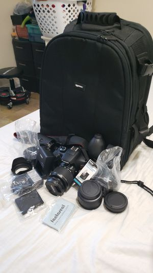 Canon eos rebel t6 camera bundle for Sale in The Bronx, NY