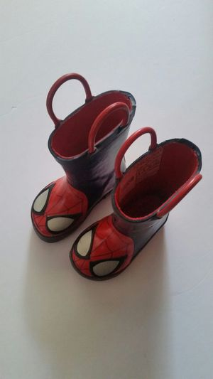 Spider-Man kids rain boots for Sale in Lawndale, CA