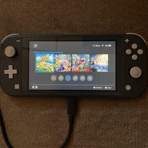 Grey Nintendo Switch Lite for Sale in Philadelphia, PA